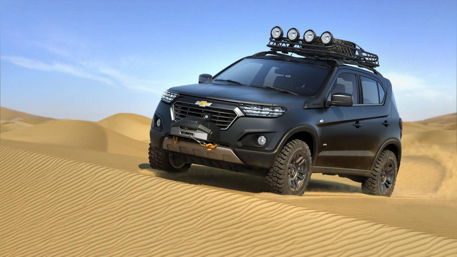 Chevrolet Reveals Niva Concept At 2014 Moscow Auto Show