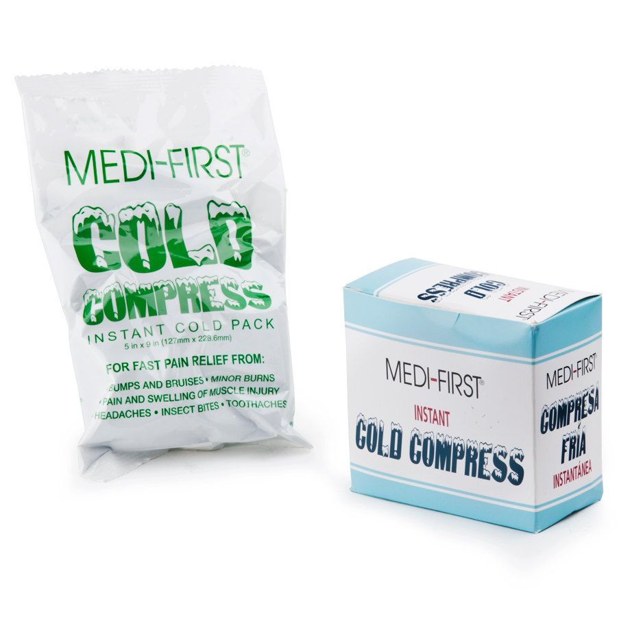 Medique 70201 Medi First 5 X 9 Instant Ice Pack Cold Compress Instant Ice Packs Instant Ice Ice Pack