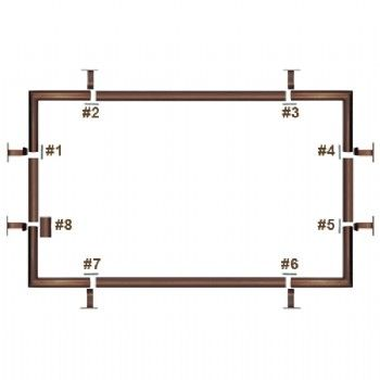 Bed Hardware Ceiling Canopy Bed Kit Finally I Have A Plan