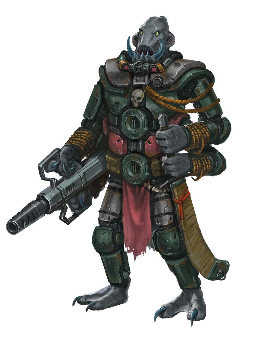 Shobhad Soldier - Starfinder RPG (Alien Archive art ...