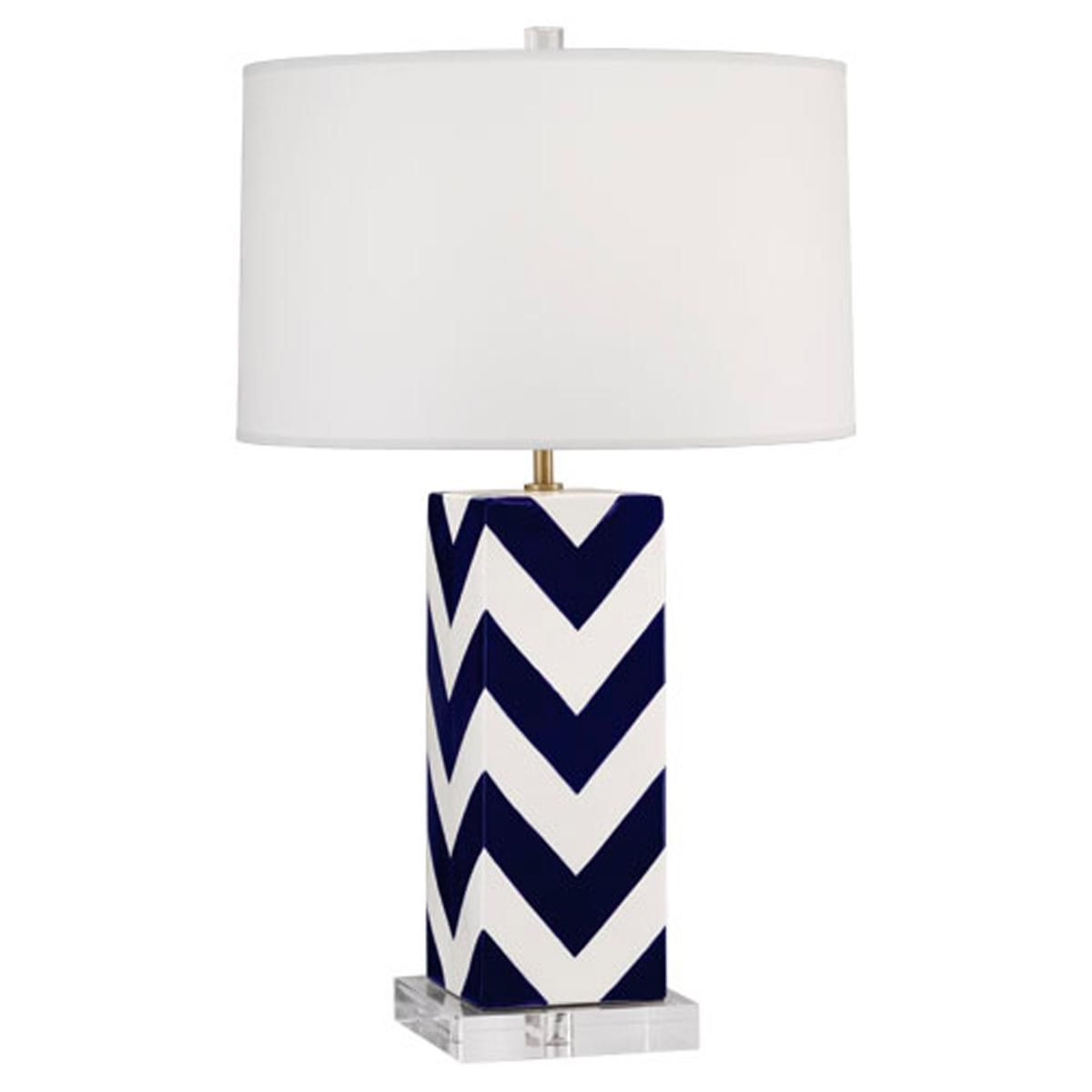 Mary Mcdonald Chevron Stripe Table Lamp Designed By Famous