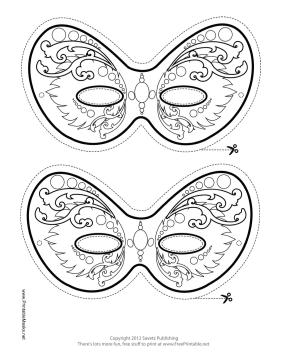 photograph about Et Mask Printable identified as masques à imprimer et colorier Properly Printable II