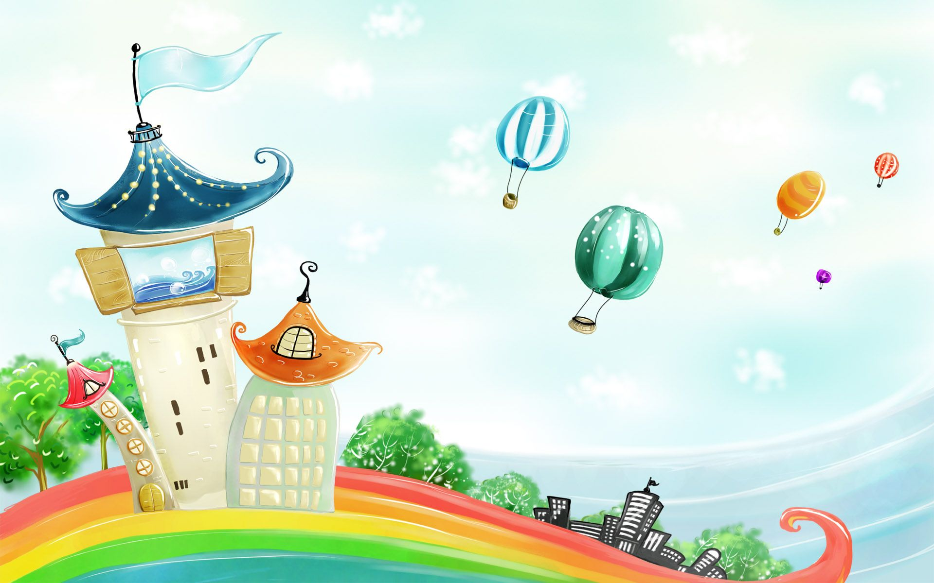 Genial Cartoons Wallpapers For Kids