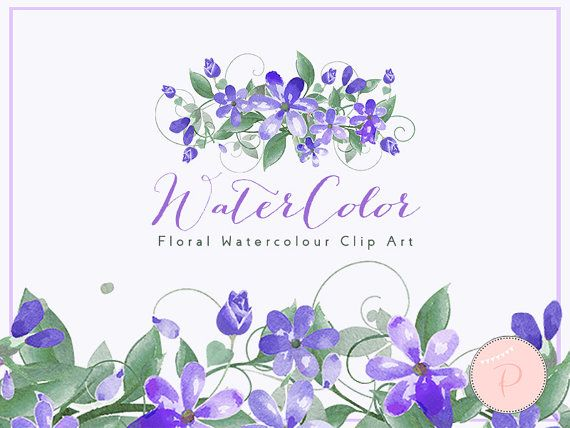 blue watercolor flower clipart daisy floral clip art free wedding invitations navy blue flowers