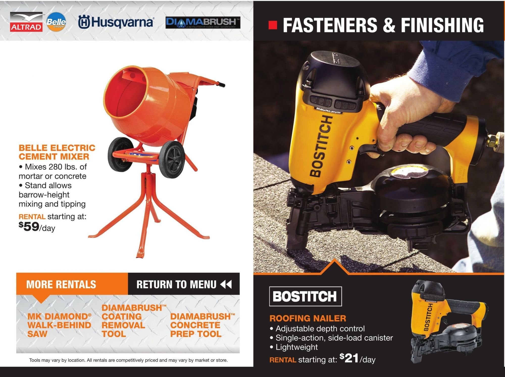 Flyer Home Depot Tool Rental 2018 Canada From Friday March 23 2018 To Monday December 31 2018 Home Depot Flyer Home Depot Store