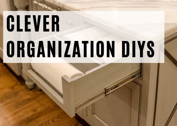 Organization 6 Clever DIYS To Add More Organization To Your Home  Looking for clever diy organization ideas Check these organization hacks out hacks