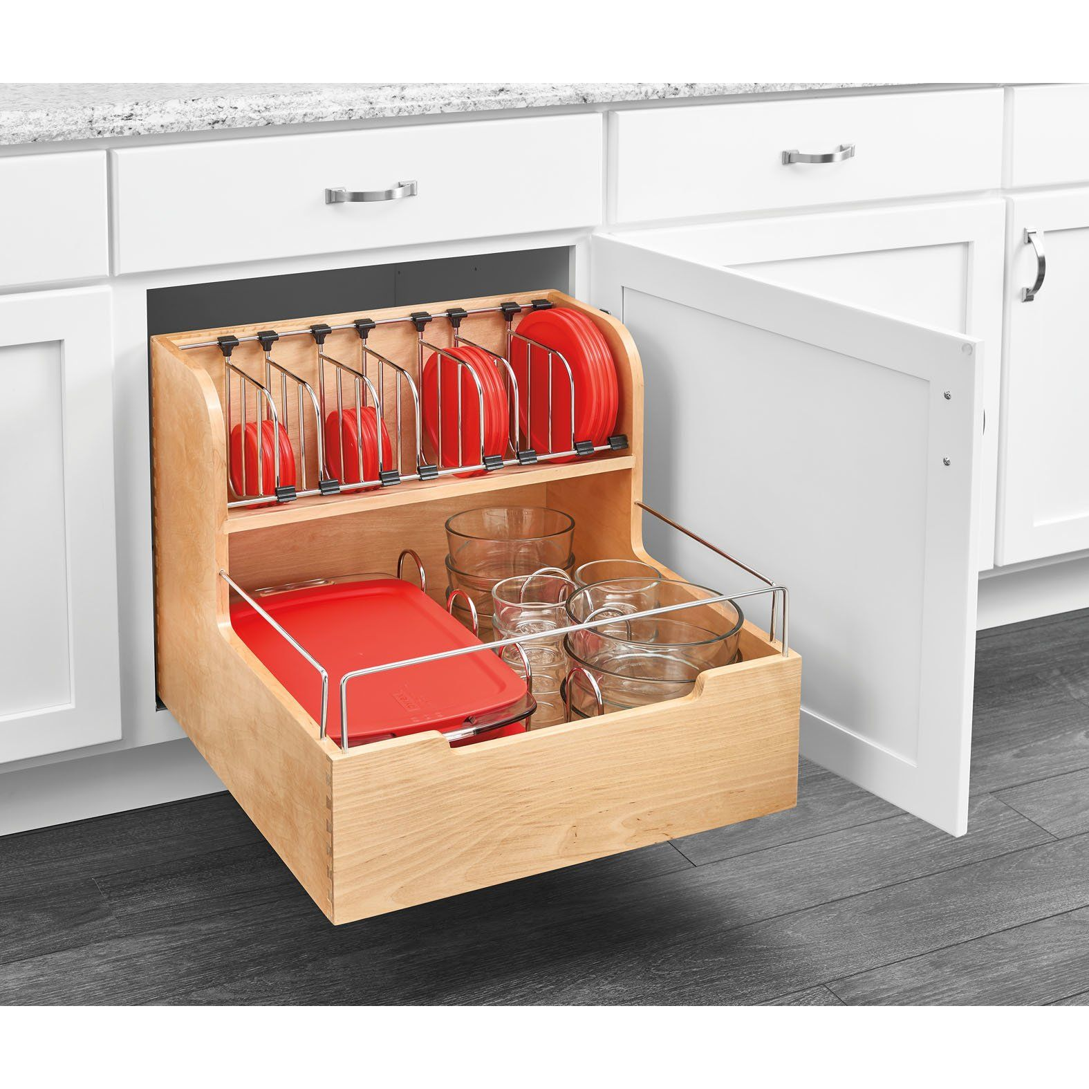 food storage pull out pantry kitchen design kitchen remodel kitchen storage on kitchen organization recycling id=95759