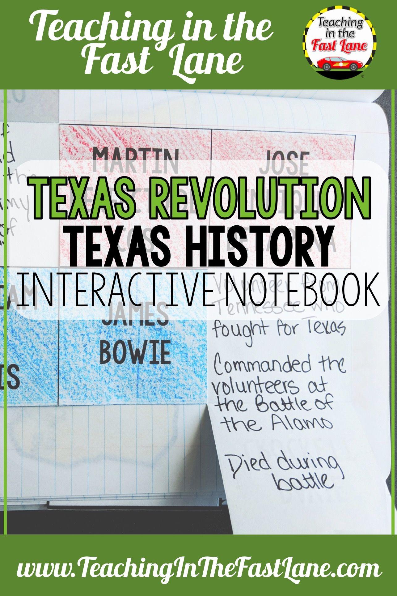 Photo of Texas Revolution Notebook Kit