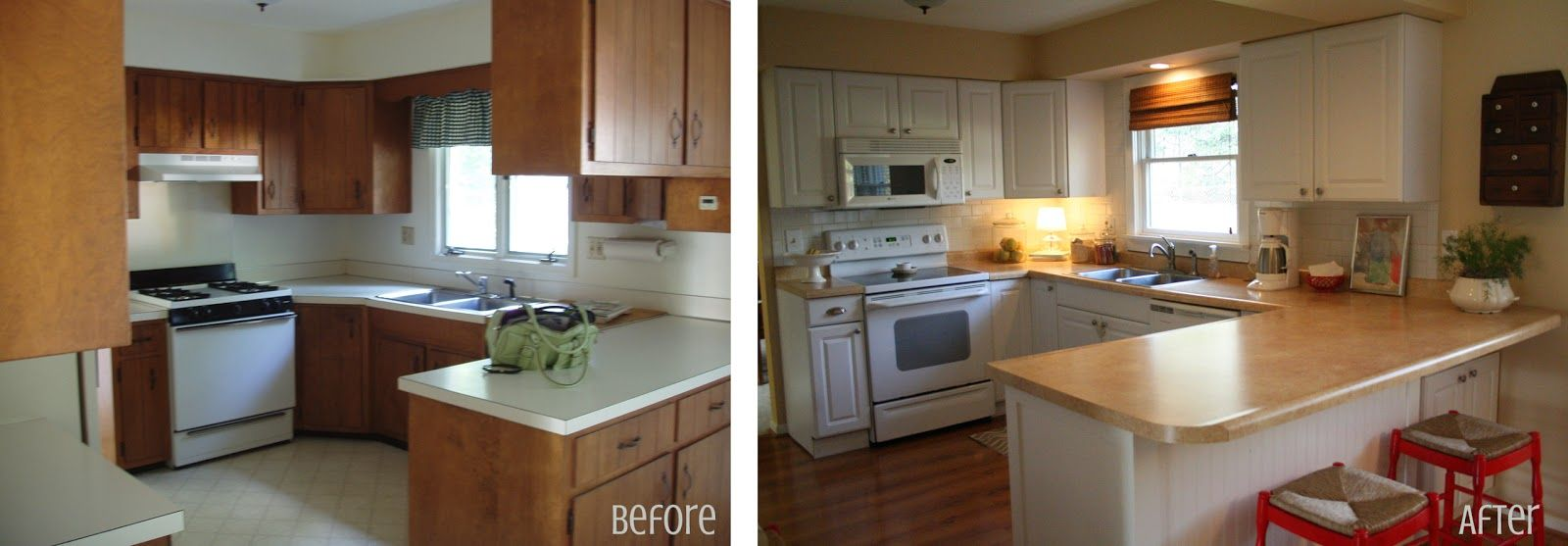 S Kitchen Makeover Before After S Kitchen Kitchens And - Kitchen before and after remodels