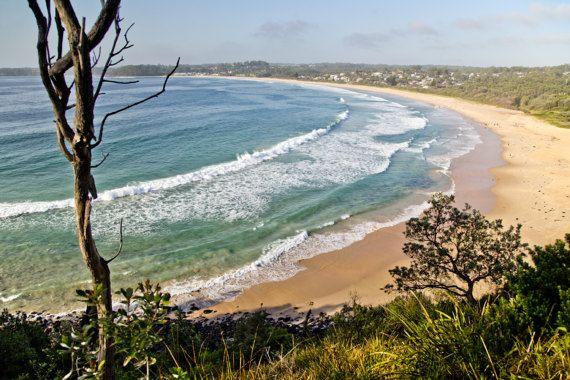 Mollymook Beach South Coast NSW Australia Photograph Wall Art Print ...
