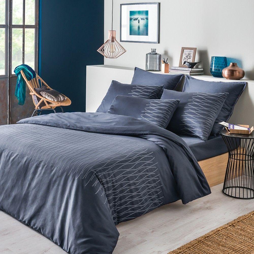 drap housse collection printemps t 2016 par garnier thiebaut mod le ondes drap housse 10. Black Bedroom Furniture Sets. Home Design Ideas