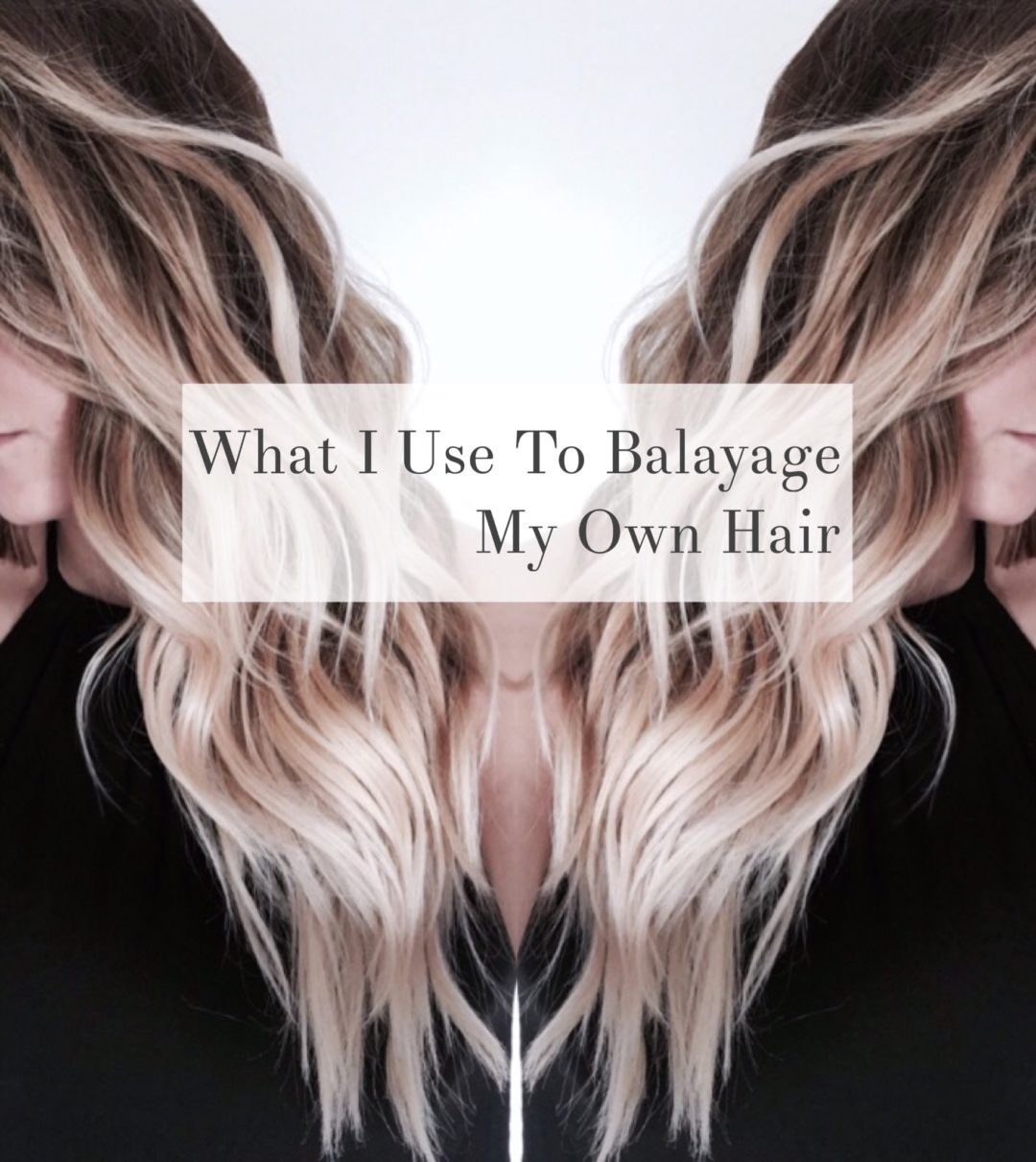 Learn how to do the beloved balayage technique on yourself! I\u0027ll show you