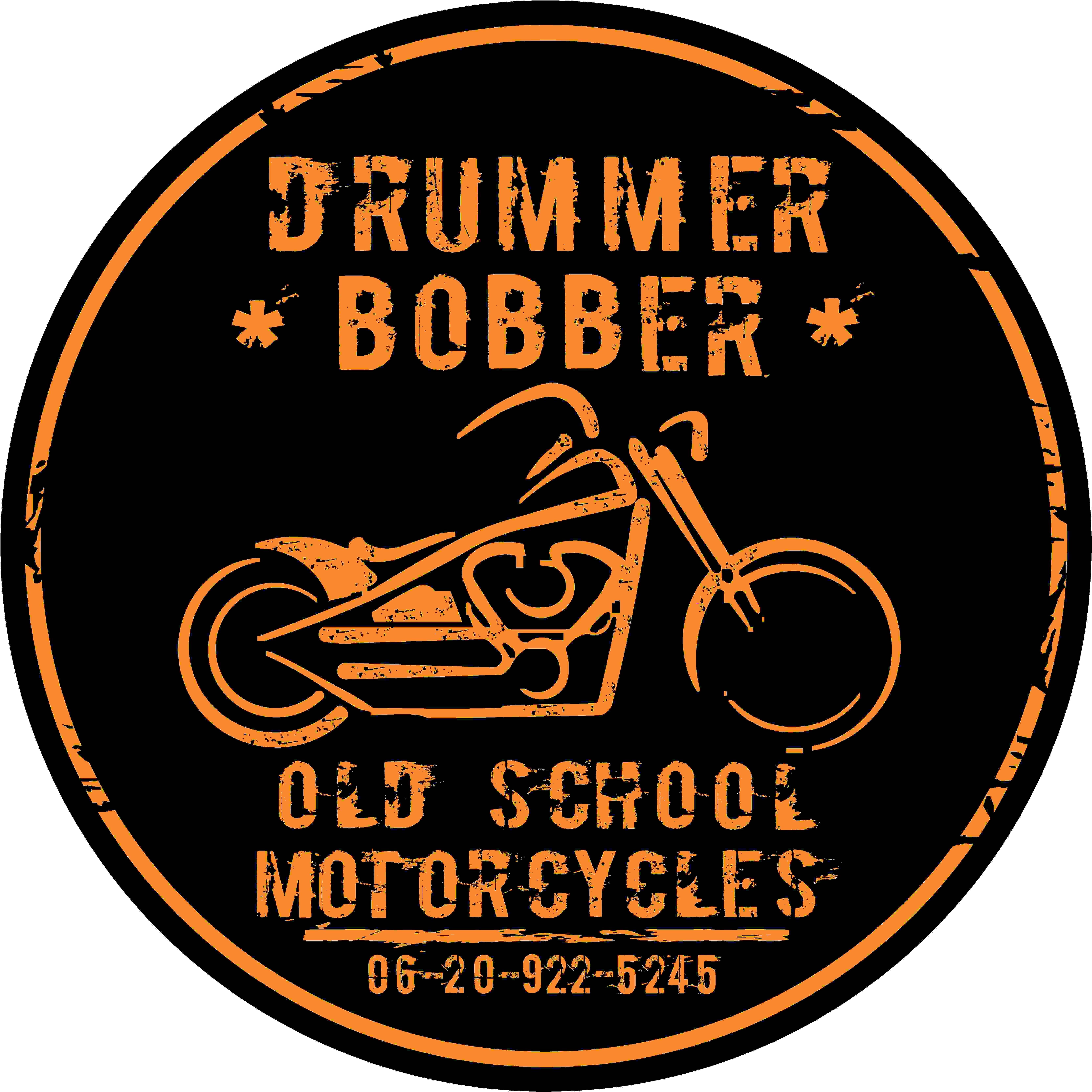 Drummer bobber logo Motorcycles Pinterest Bobbers