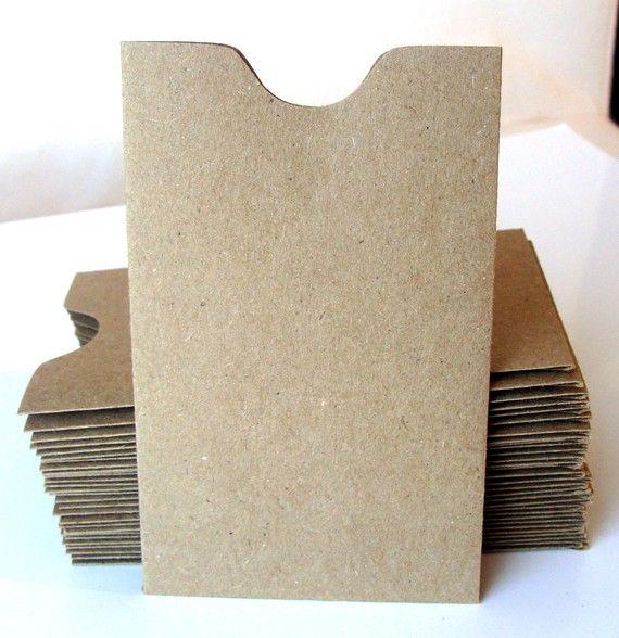 20 Mini Brown Bag Natural Kraft Paper