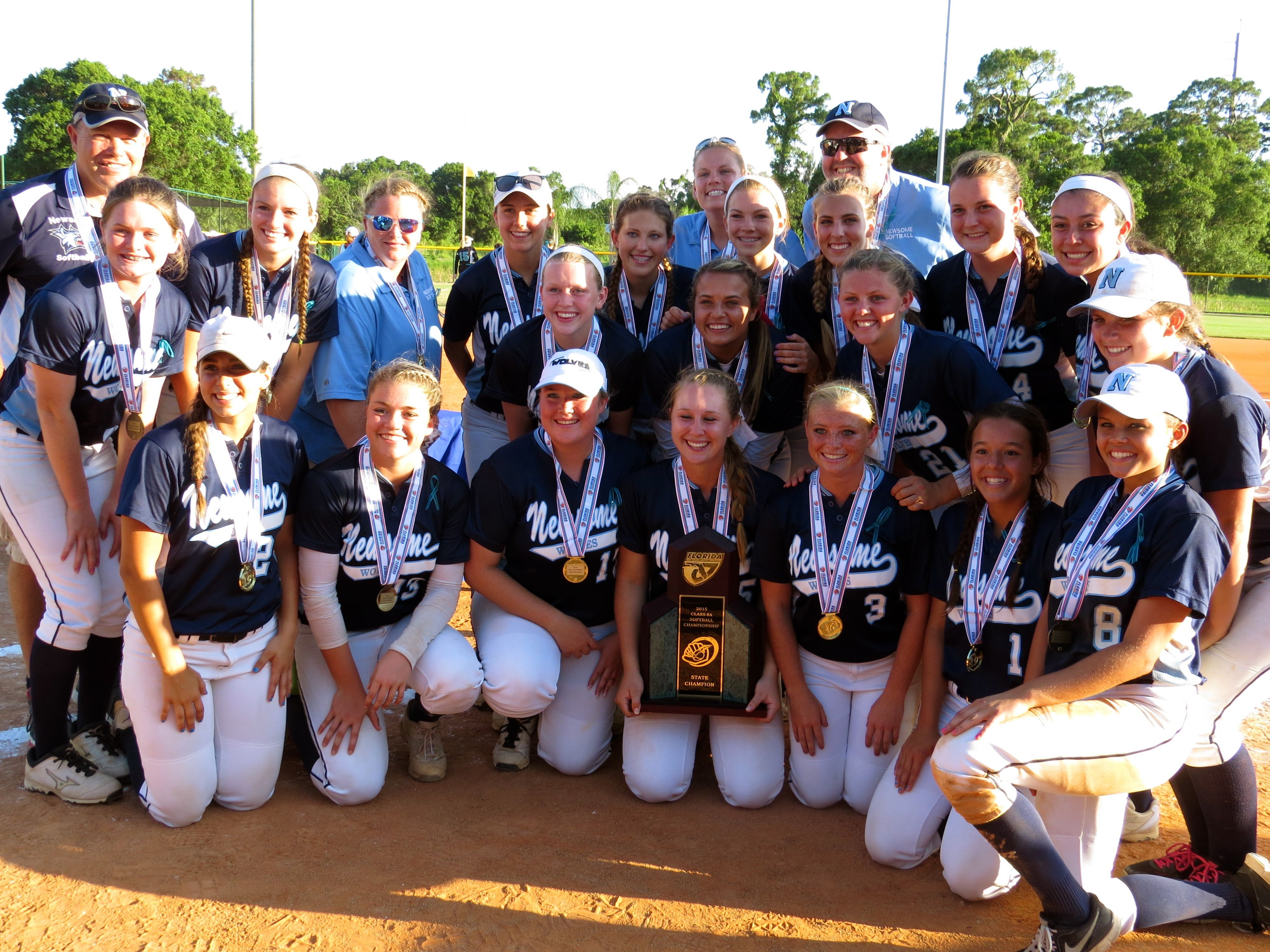 Newsome Makes History With Its First State Title Track And Field Flag Football Water Polo