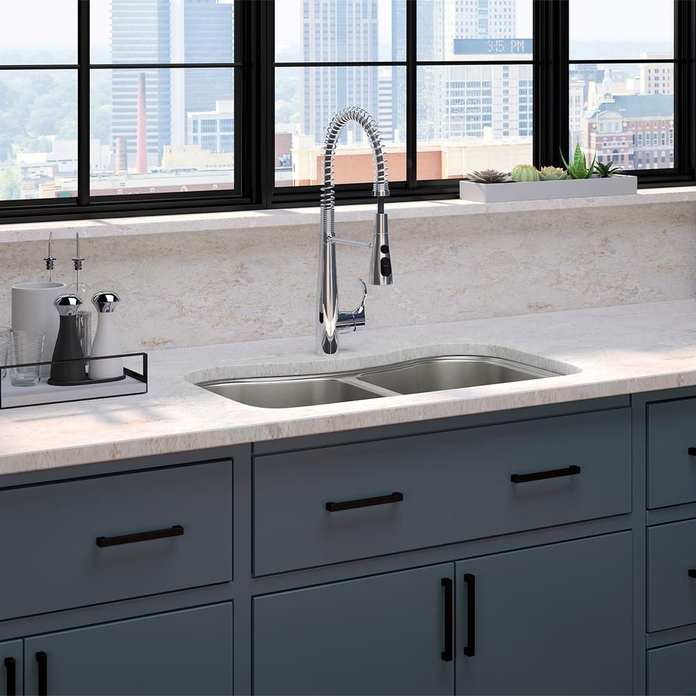 Kohler Staccato All In One Undermount Stainless Steel 31 In