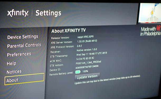 Tips on setting up the Xfinity X1 cable box | Xfinity Apps