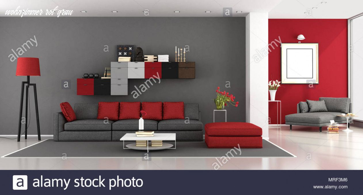 Sieben Möglichkeiten Zur Vorbereitung Auf Wohnzimmer Rot Grau in
