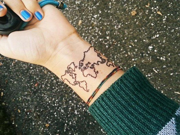 Simmiliar world maps tattoo on legs tattoomagz tattoos simmiliar world maps tattoo on legs tattoomagz gumiabroncs Image collections