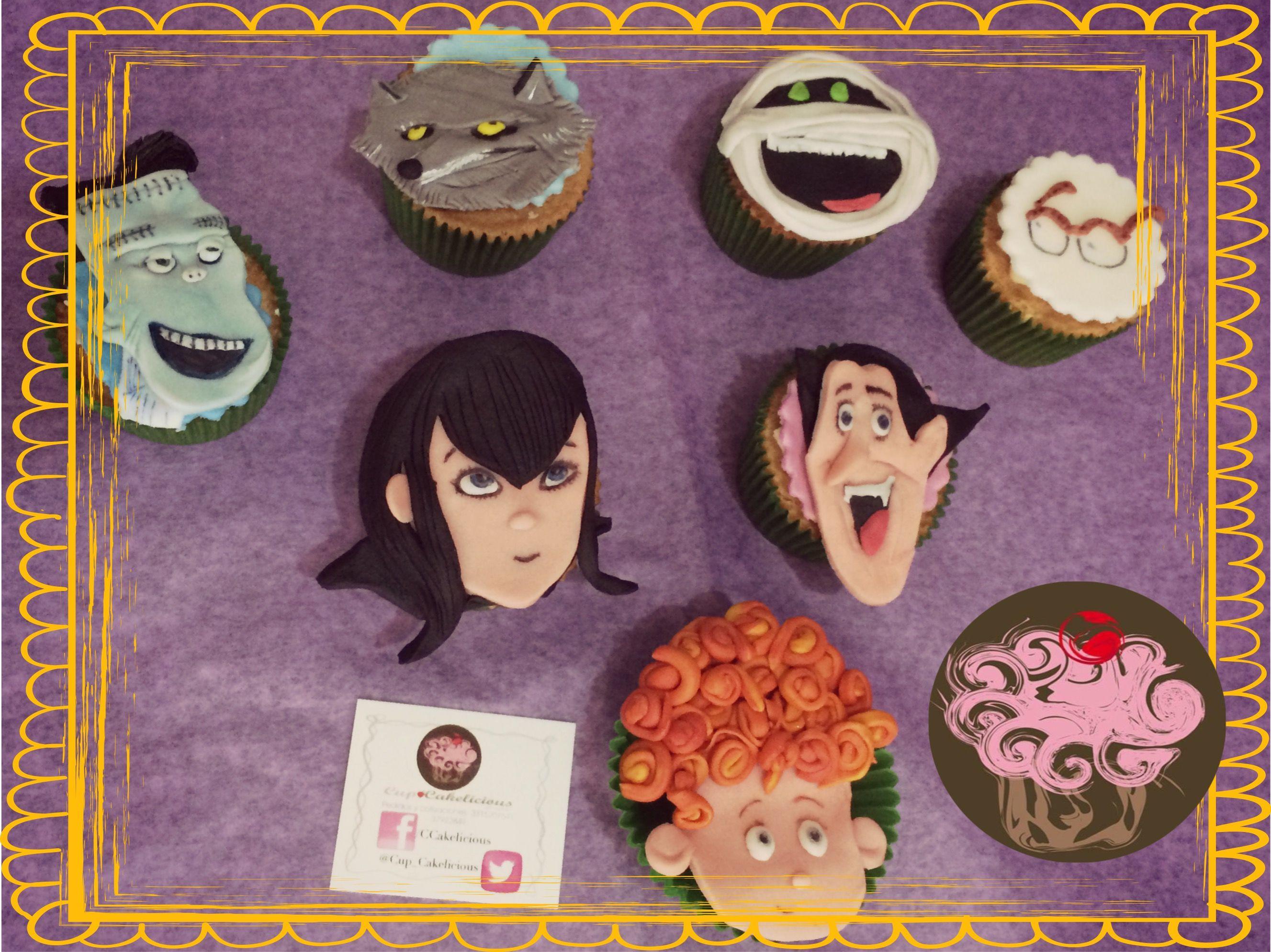 Cupcakes Hotel Transylvania Personalizados