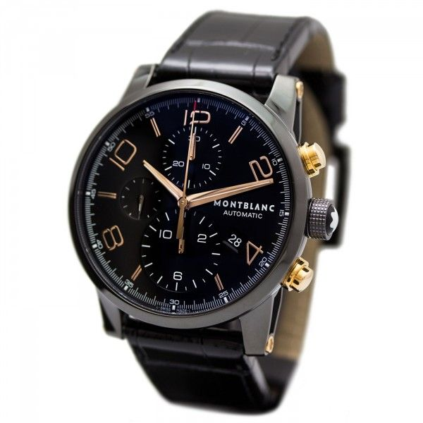 Montblanc TimeWalker Dual Carbon Chronograph 105805 Regular Price  €6,900  (Save 52% off 437e116284