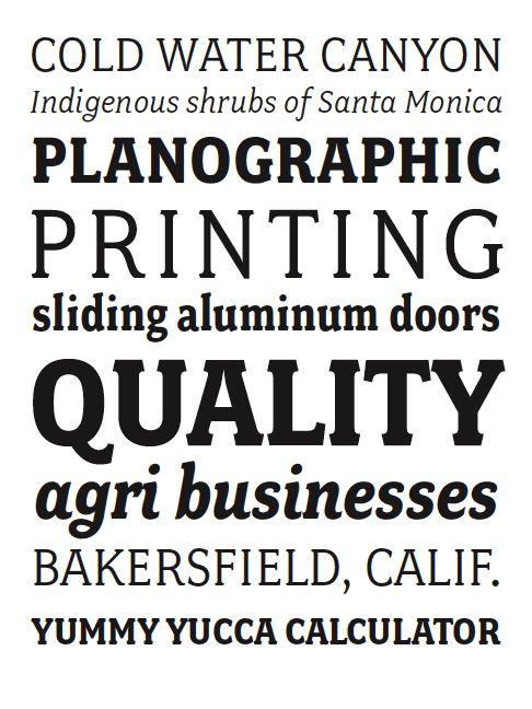 Fairplex Book Font
