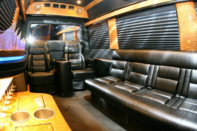 Corporate vehicles with images party bus rental party