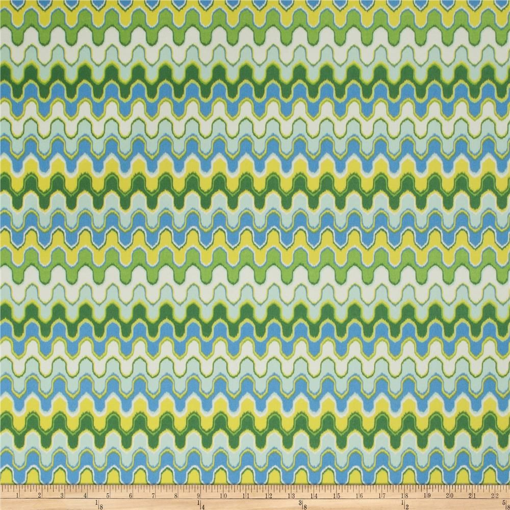 Trend 03049 Outdoor Oasis from @fabricdotcom  Outdoor fabric is perfect for outdoor settings and indoors in sunny rooms and family rooms. This fabric is fade resistant up to 500 hours of direct sun exposure. Perfect for decorative accent pillows, chair pads, cushions, deck chairs, slipcovers and upholstery. To maintain the life of the fabric bring indoors when not in use. This fabric exceeds 30,000 double rubs.