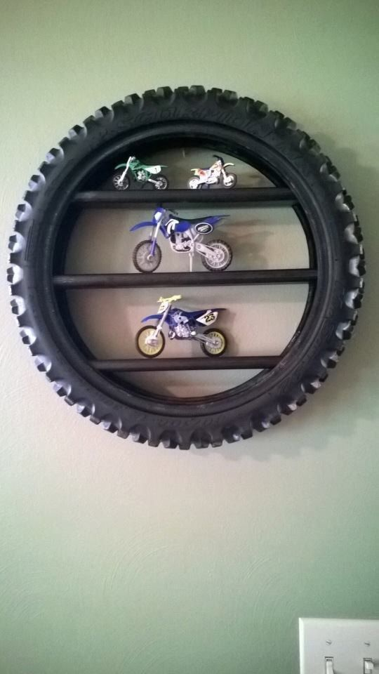 Tire Display Shelf By Bmproducts On Etsy Bike Room Dirt