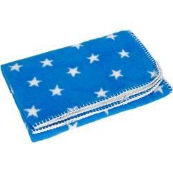Photo of Yogilino® Babydecke 75 x 100 cm Made in Germany, blau mit weißen Sternen YogaboxYogabox