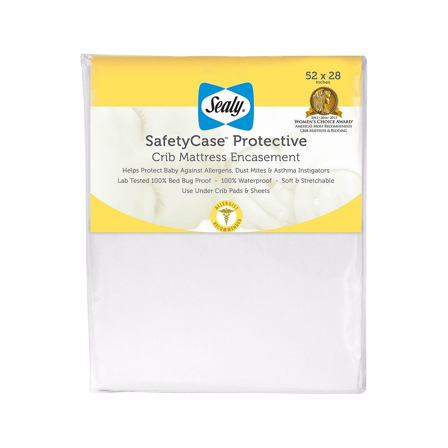 Sealy SafetyCase Protective Crib Mattress Encasement