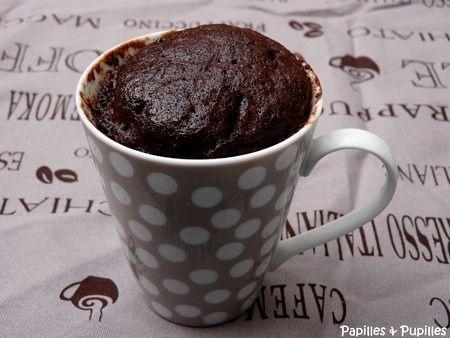 Gateau Au Chocolat Dans Une Tasse Fevrier Recettes De Saison