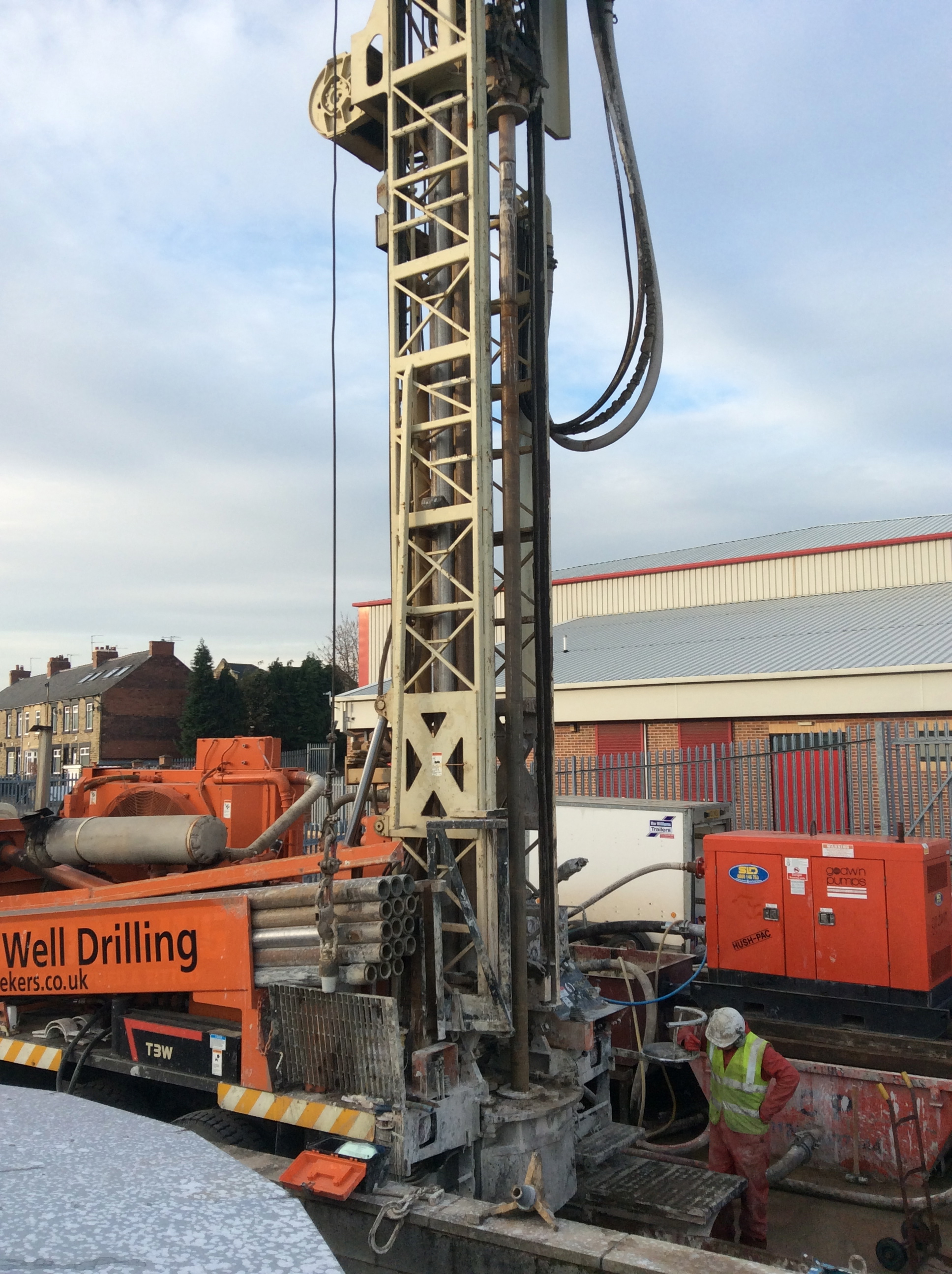 Post it note as a collector while drilling - Water Well Drilling Water Borehole Drilling Barnsley Football Club Uk
