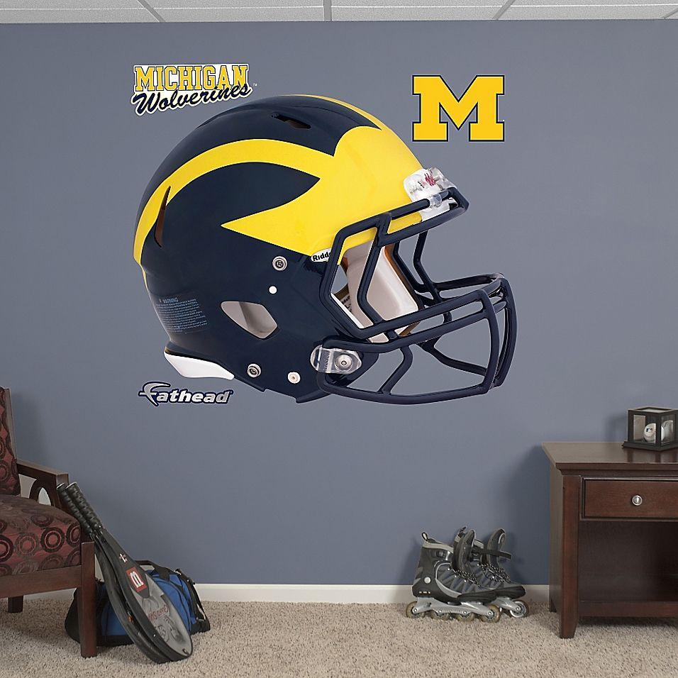 Fathead® University of Michigan Wolverines 2012 Helmet Wall Graphic