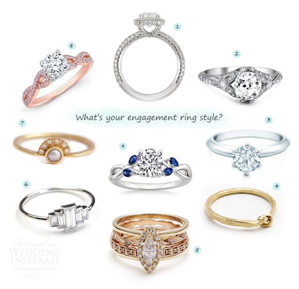 check out some of our favorite engagement ring styles and why you should consider a - Wedding Ring Insurance