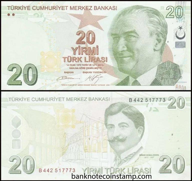 TURKEY  100 LIRA   BANKNOTE 1984 CRISP UNCIRCULATED