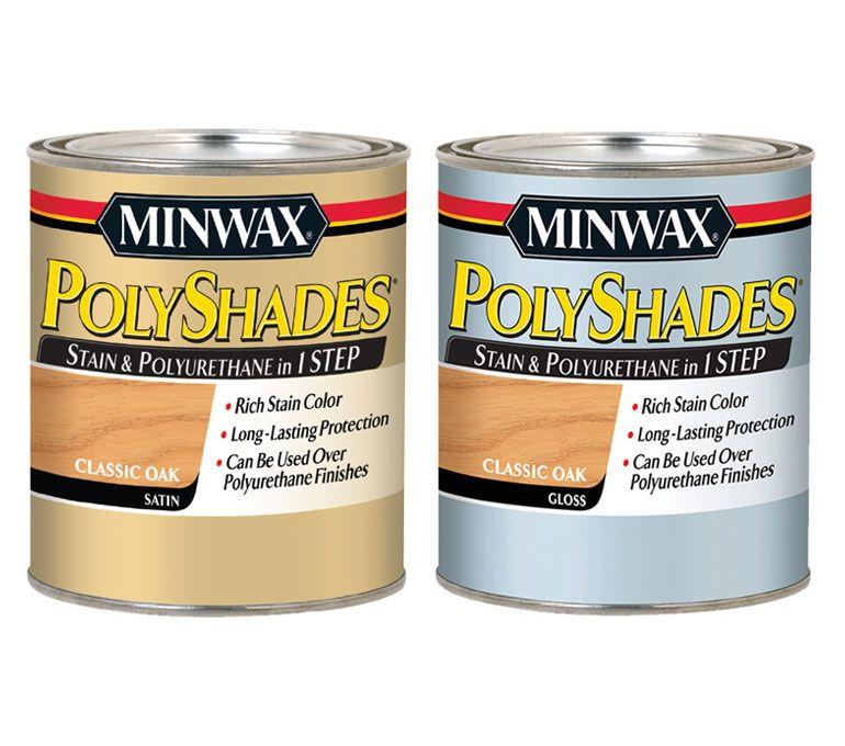 Minwax Polyshades Stain Color And Poly Finish In One Step