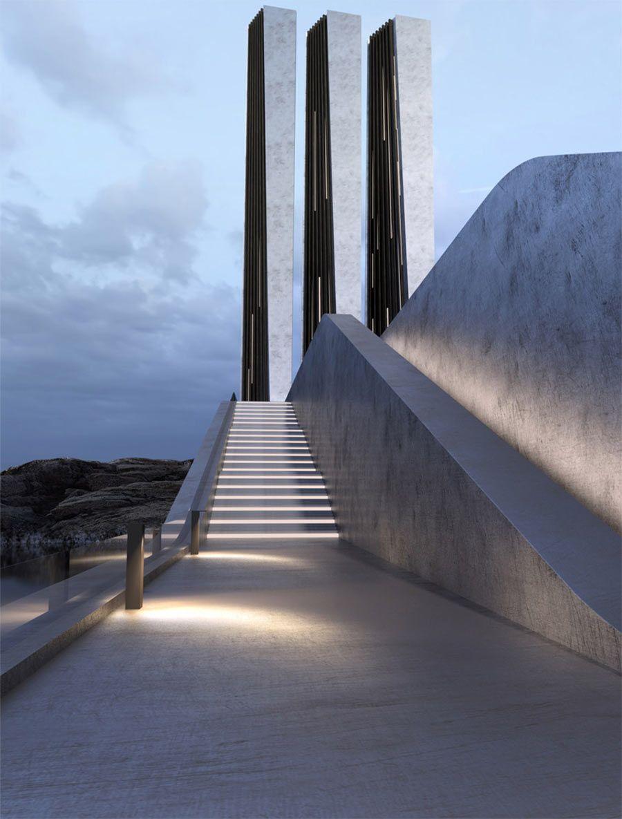 Architektur roman vlasov moderne konzepte aus der ukraine my earthship pinterest - Futuristische architektur ...