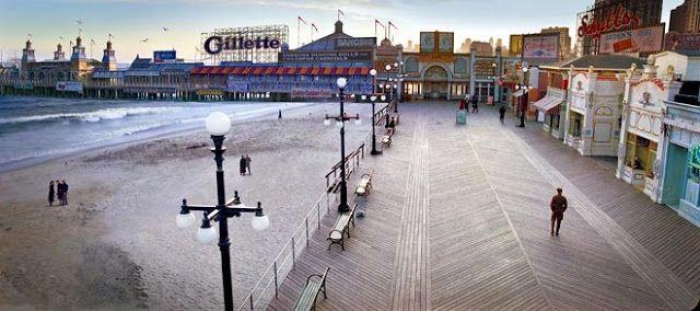 New York - History - Geschichte: Boardwalk Empire Boardwalk