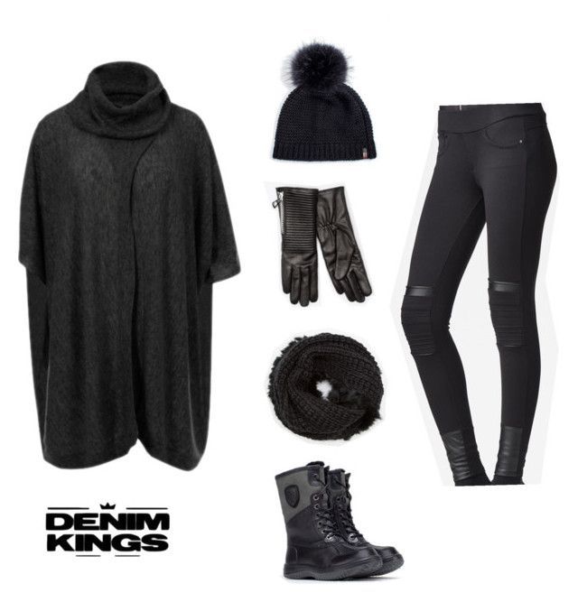 """AU NOIR"" by denimkings on Polyvore featuring Rudsak"