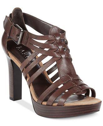 3cd684bfe6e635 Lauren Ralph Lauren Safia Platform Dress Sandals - Sandals - Shoes - Macy s