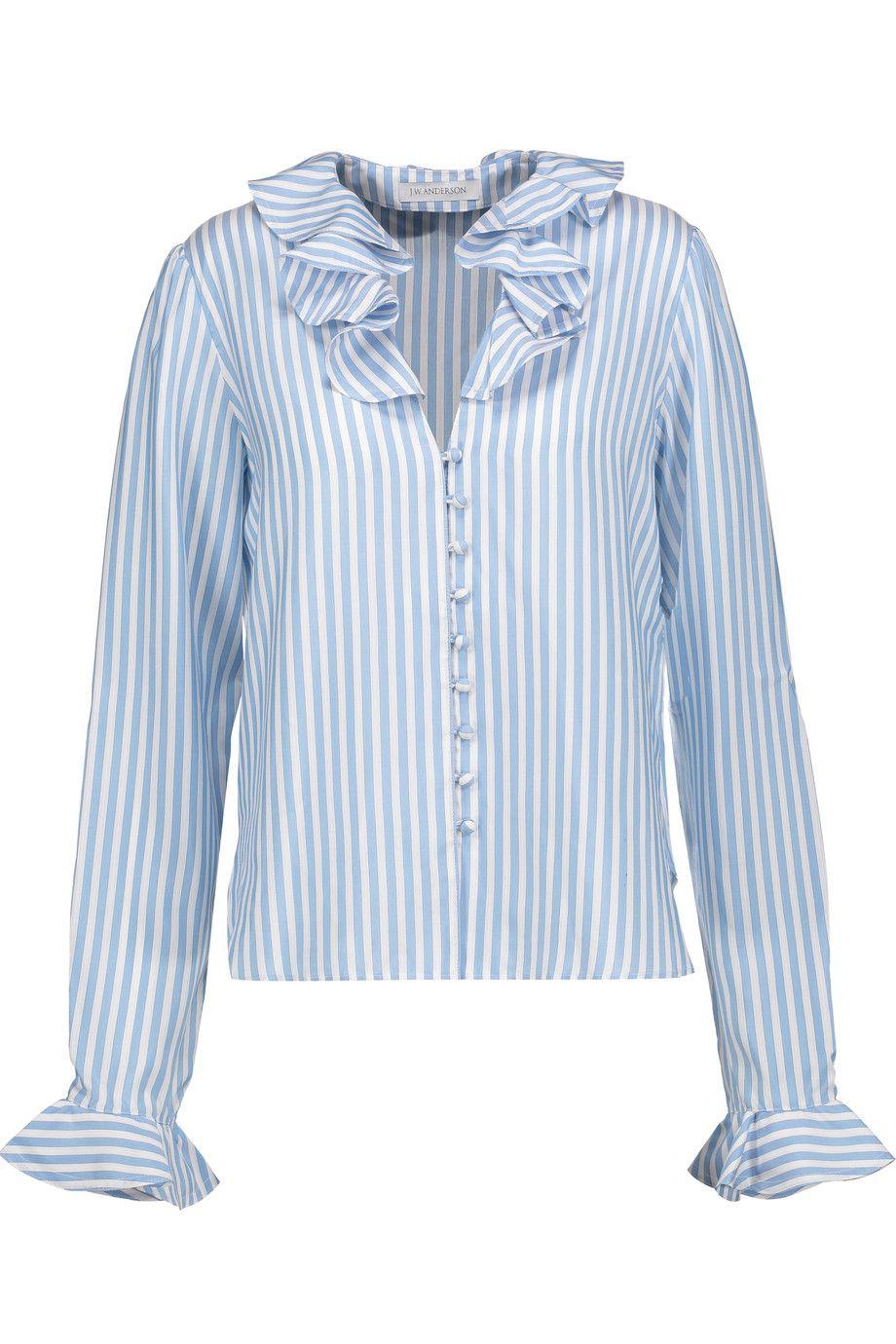 Striped silk blouse J.W.Anderson Sale Cheap Online LRktrLPJDV