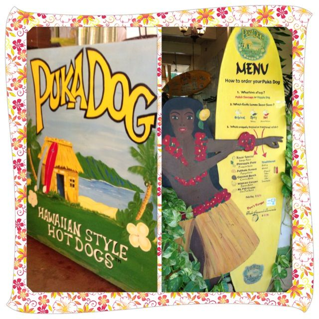 Our Poipu location is sure to please you with our menu of delicious Hawaiian hot dogs and array of condiment choices!