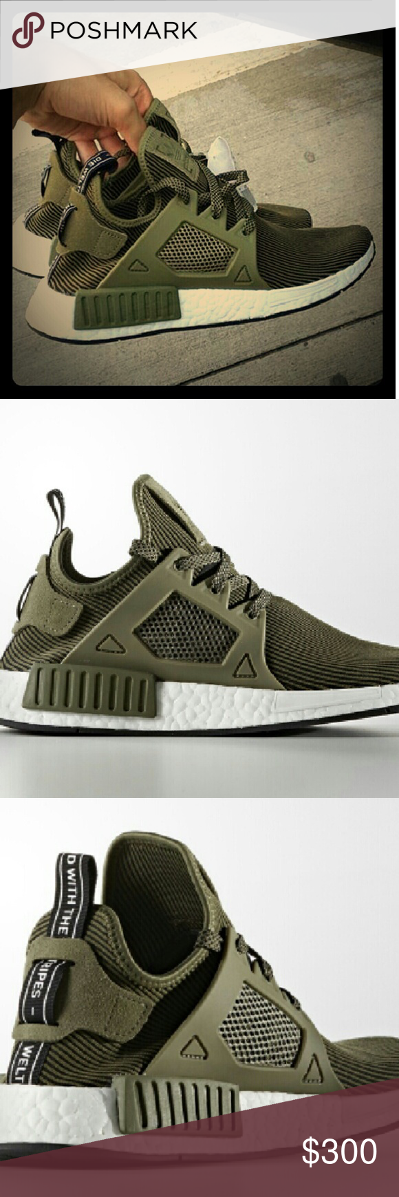 8062091fb Adidas NMD XR1 Olive Brand new adidas originals NMD XR1. Rare sneakers. Adidas  Shoes Sneakers