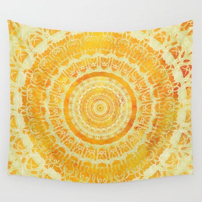 Sunflower Tapestry Bedroom Ideas