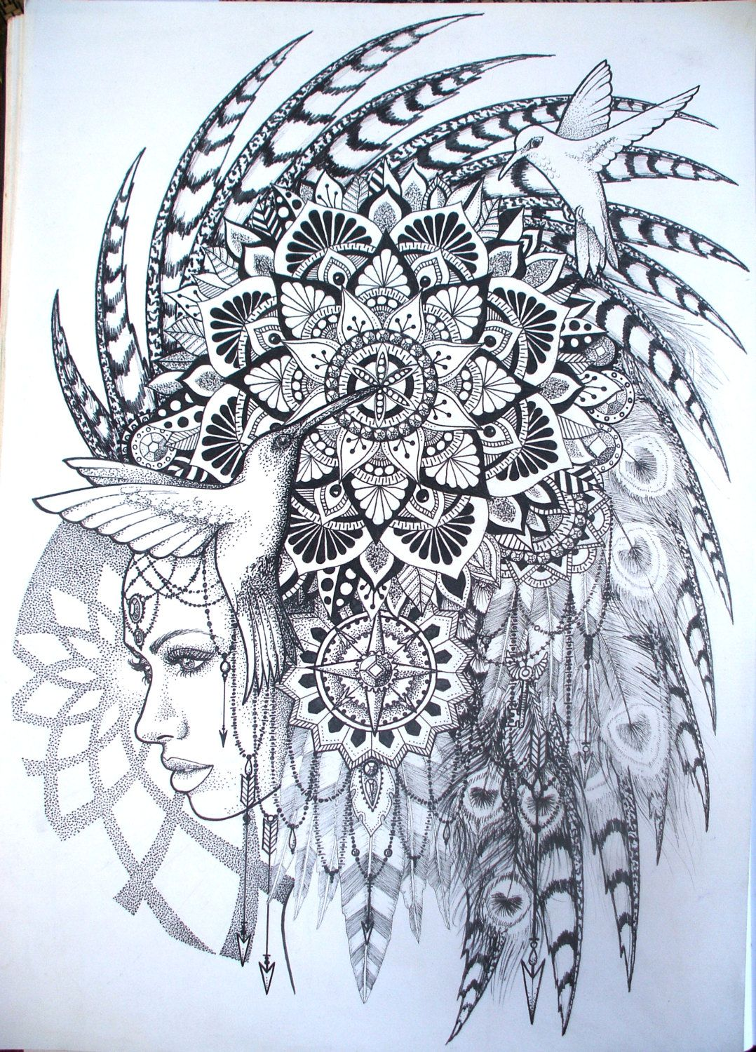 Ala African Goddess Mother of the earth. A3 limited by