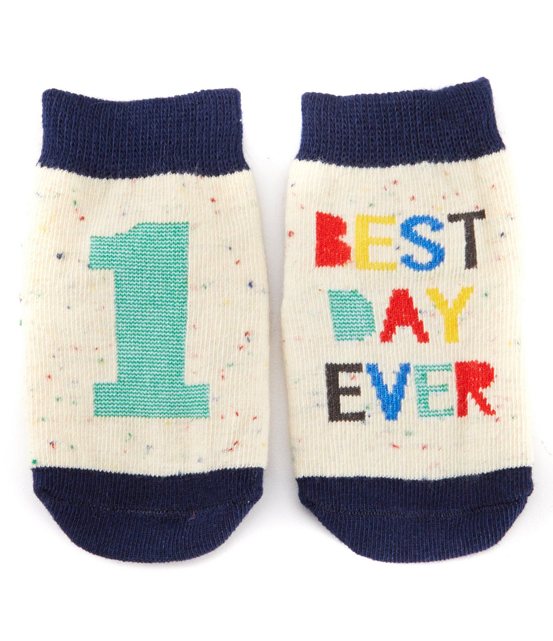 Baby Boy Socks Cotton Blend Infant 3 Pairs 0-12 Months