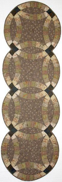 Forever Yours Table Runner ~ Quiltworx.com  Made by Roger Kerr