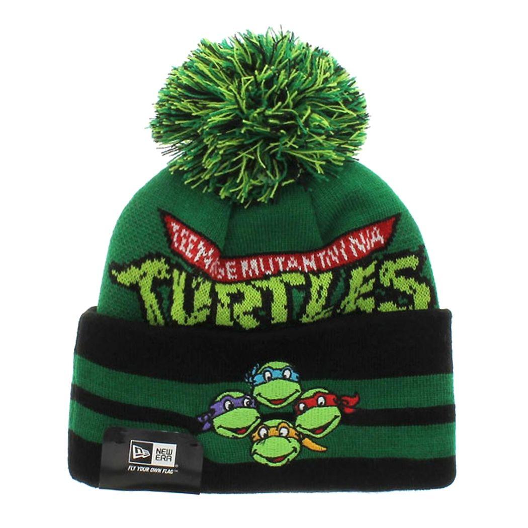 Teenage Mutant Ninja Turtles Knit Beanie More 8b67ba09f671
