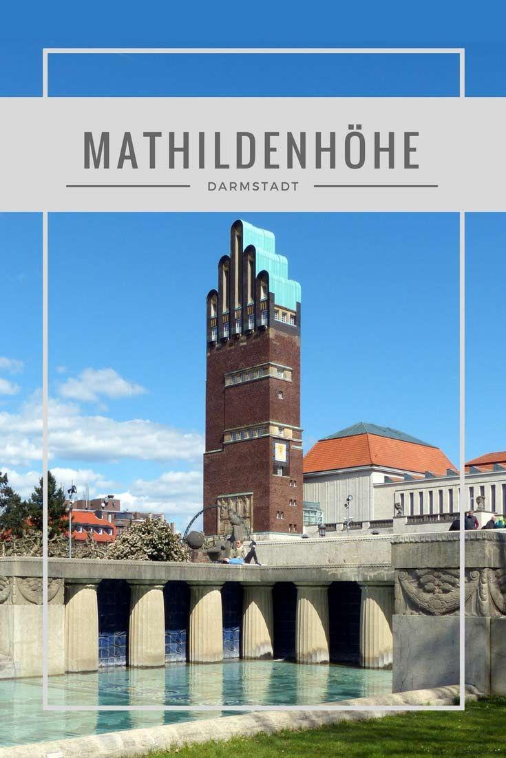 Die Künstlerkolonie auf der Mathildenhöhe in Darmstadt